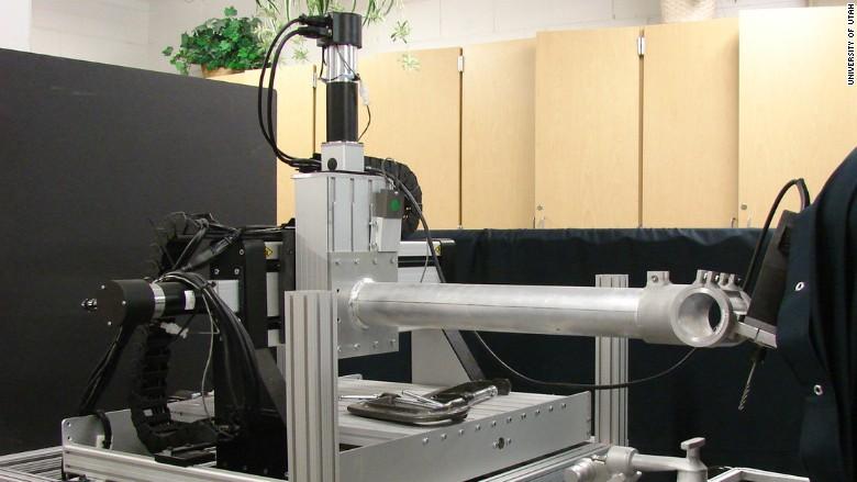 foret automatique chirurgie du cerveau