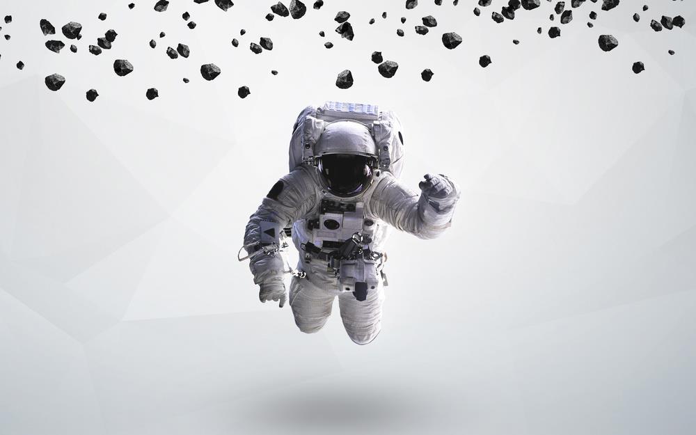 bactéries dans l'espace